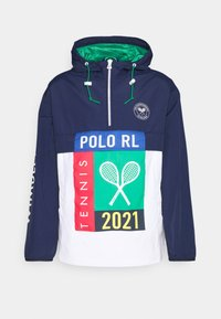 Polo Ralph Lauren - PLAINWEAVE UNLINED - Windbreaker - french navy/pure - 0