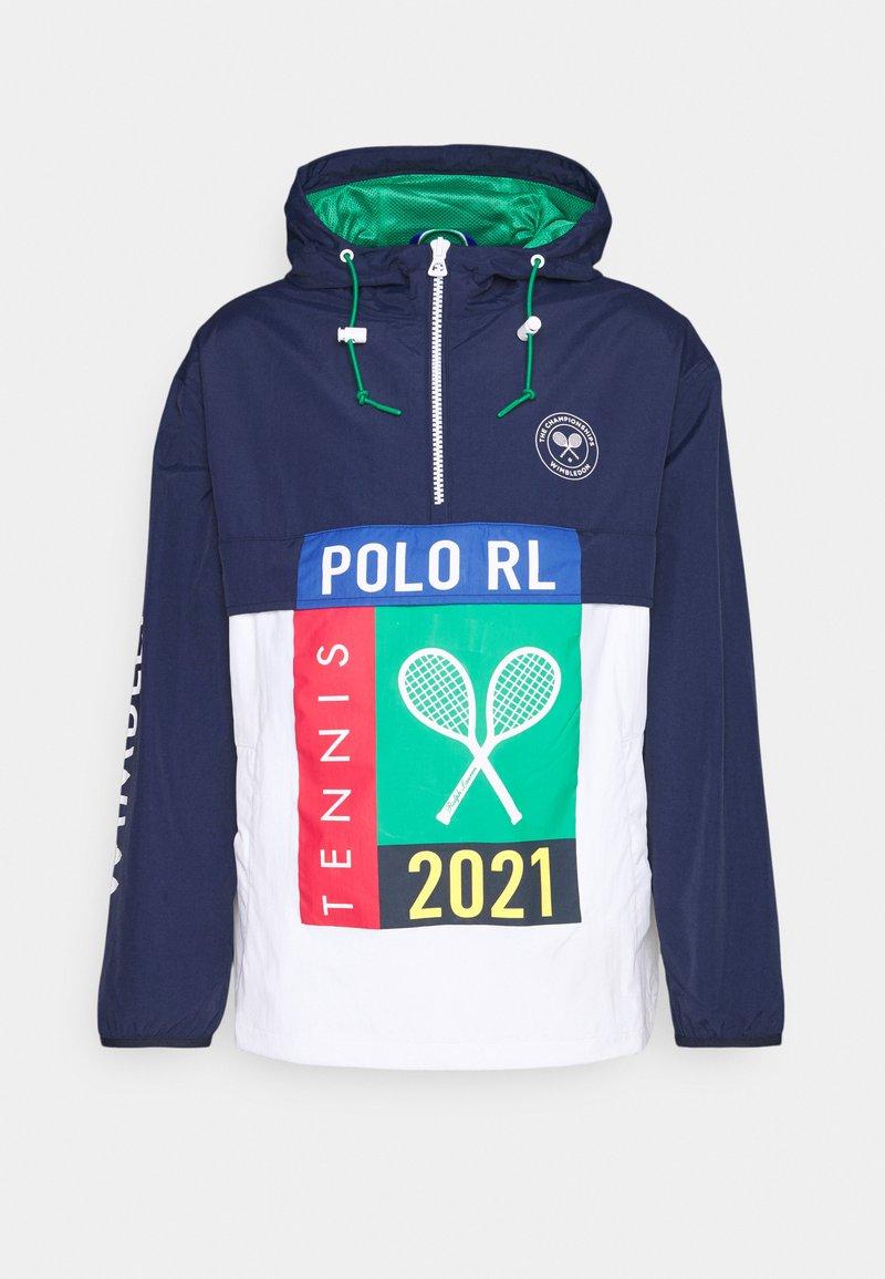 Polo Ralph Lauren - PLAINWEAVE UNLINED - Windbreaker - french navy/pure