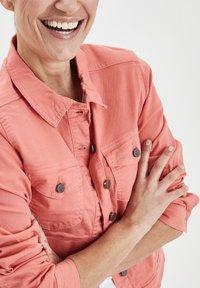 Fransa - FRIVTWILL  - Denim jacket - shell pink - 4