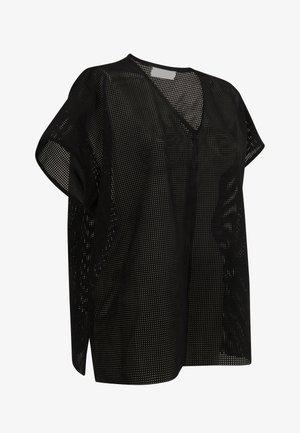 RILEY OVERSIZED SUEDE  - Blusa - black