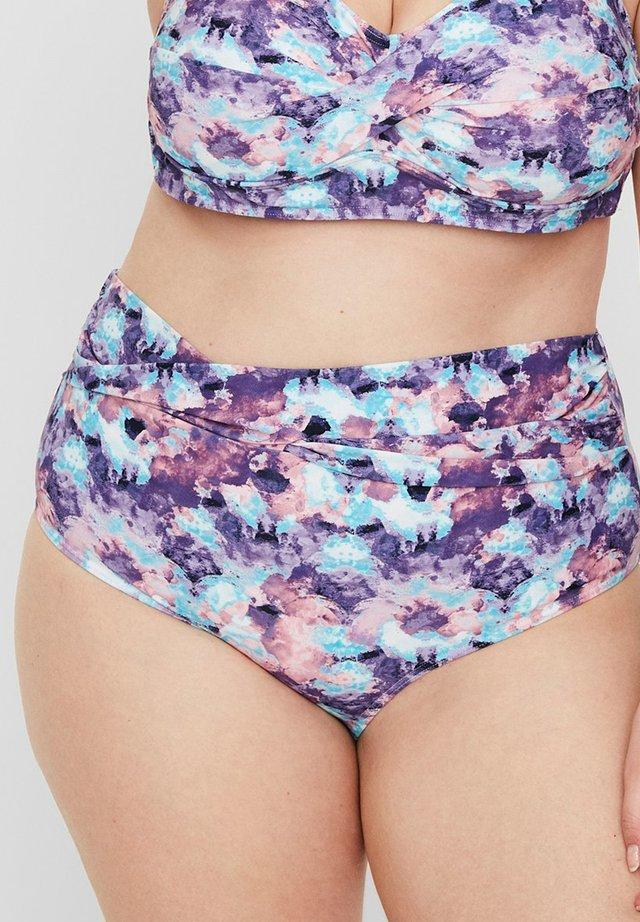 JUNAROSE - BY VERO MODA BIKINI-HÖSCHEN BEDRUCKTES - Bikini bottoms - navy blazer