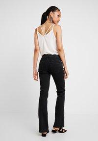 Diesel - D-EBBEY - Bootcut jeans - black - 2