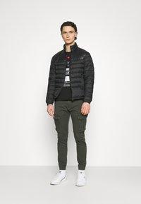 Gianni Lupo - T-shirt imprimé - black - 1