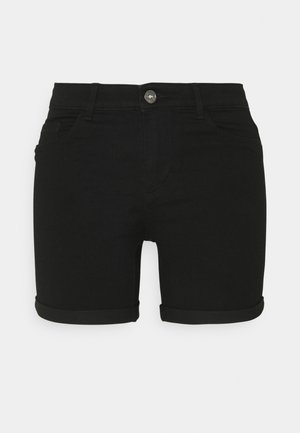ONLROYAL LIFE  - Denim shorts - black
