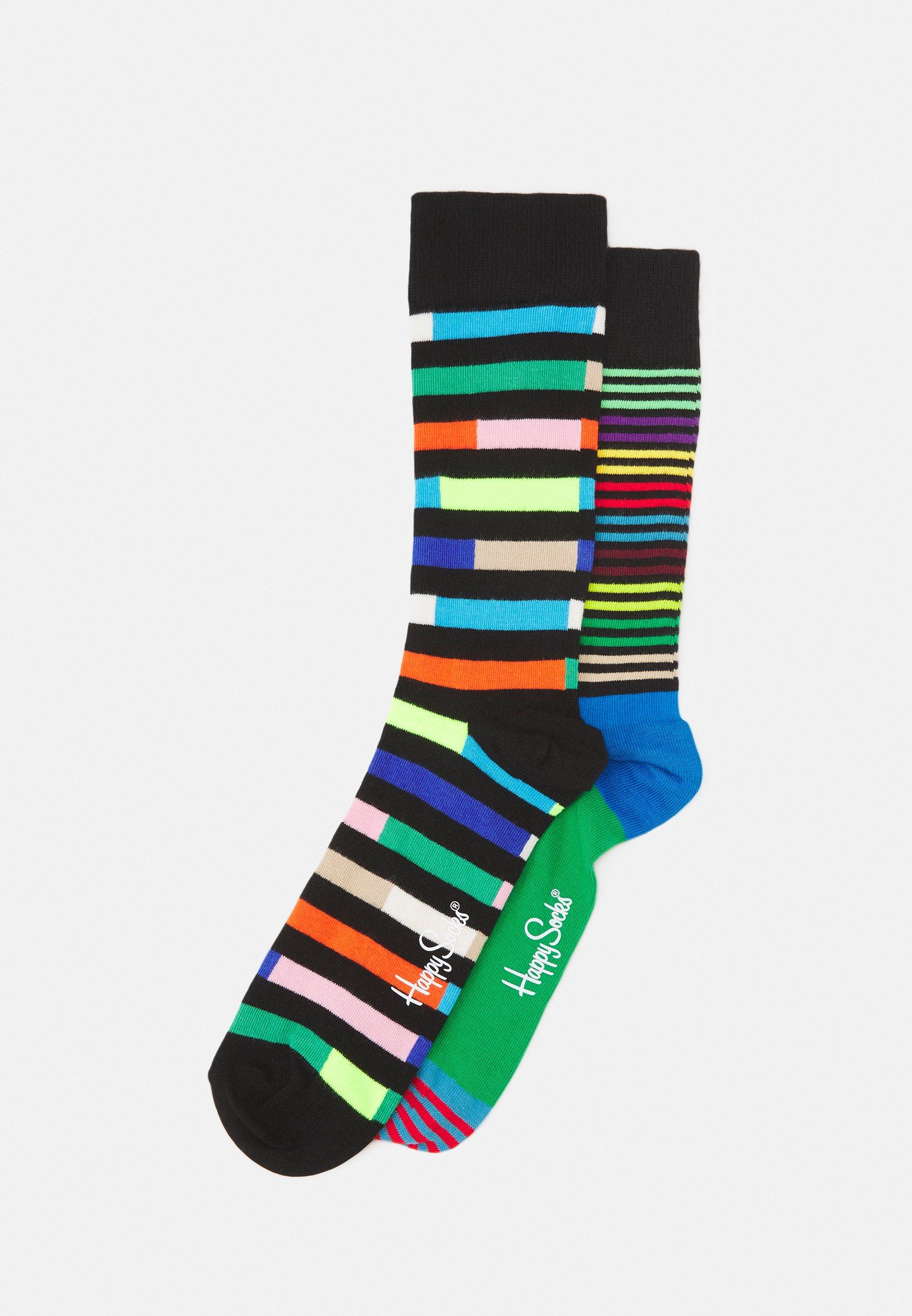 Men HIGHWAY HALF STRIPE 2 PACK UNISEX - Socks