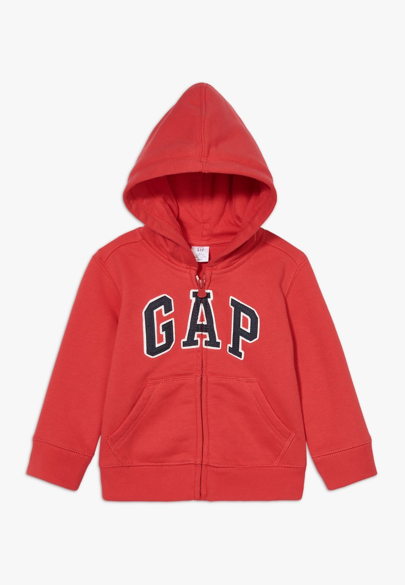 GAP - TODDLER BOY LOGO - Sweatjacke - red wagon
