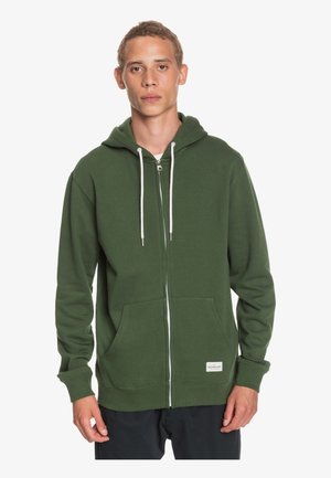 Zip-up hoodie - greener pastures