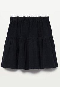 Mango - PANITA - Áčková sukně - zwart - 1