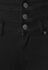 ONLY - ONLROYAL LIFE CORSAGE PIM - Jeans Skinny Fit - black denim - 3