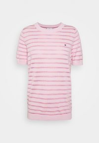 Tommy Hilfiger - BALLOU - Print T-shirt - frosted pink - 4