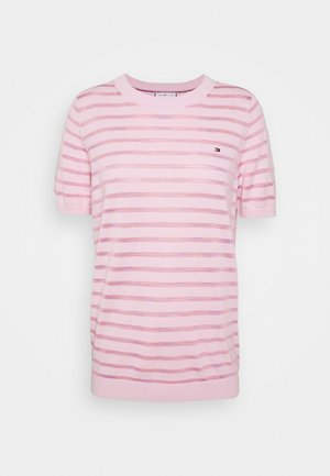 BALLOU - T-shirts med print - frosted pink