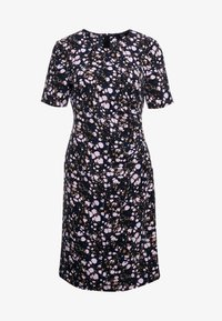 Steffen Schraut - CAROL DRAPE DRESS - Day dress - black/pink - 4