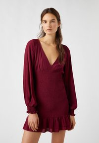 PULL&BEAR - Day dress - bordeaux - 0