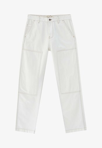 Jeans relaxed fit - white