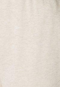 Even&Odd - 2er PACK - Loose fit joggers - Tracksuit bottoms - black/mottled beige - 4