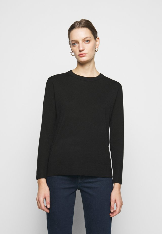 ESSENTIAL CREWNECK - Neule - black