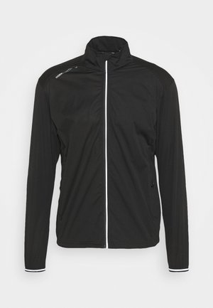 WIND JACKET - Wiatrówka - black