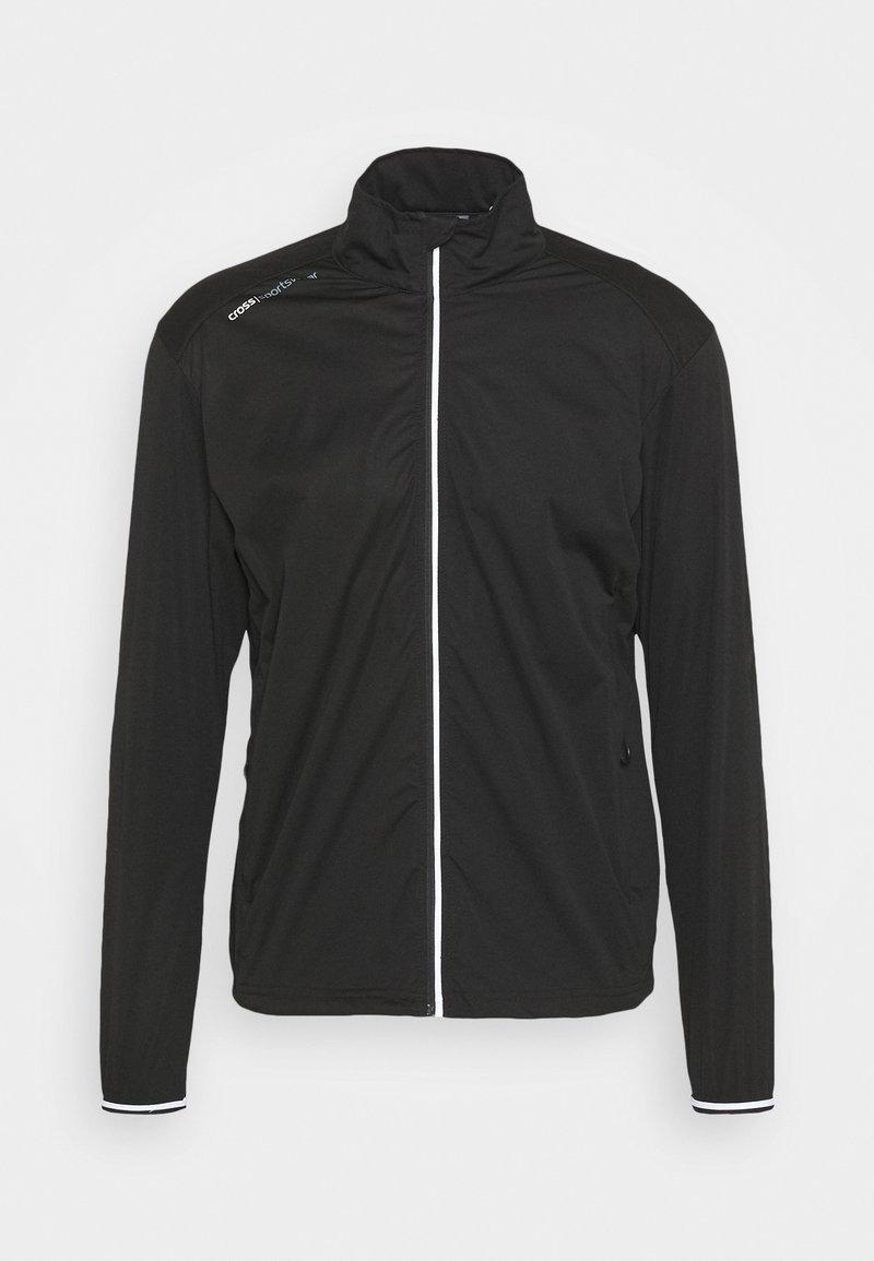 Cross Sportswear - WIND JACKET - Veste coupe-vent - black