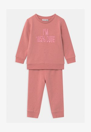 NBFOFIA BABY SET  - Trainingspak - blush