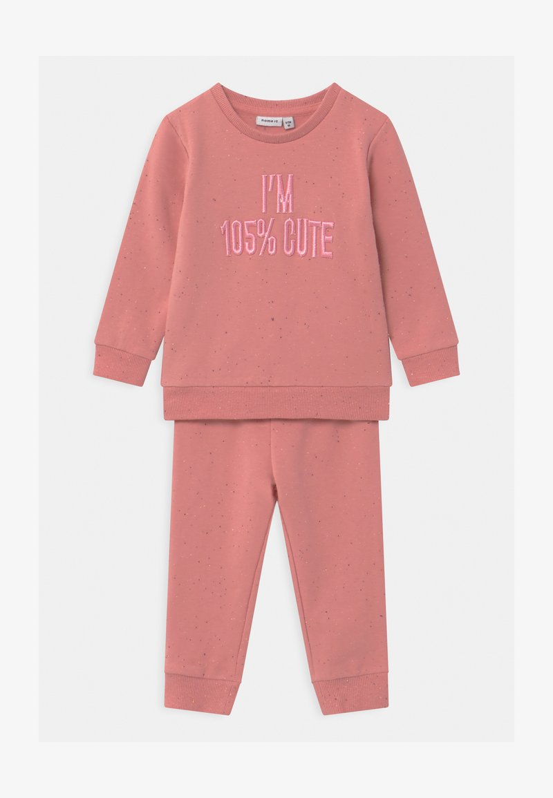 Name it - NBFOFIA BABY SET  - Tracksuit - blush