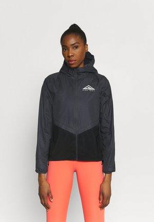 TRAIL - Sports jacket - black/dark smoke grey