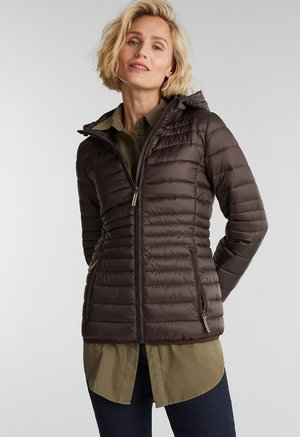 STEPP MIT 3M™ THINSULATE™ - Down jacket - dark brown