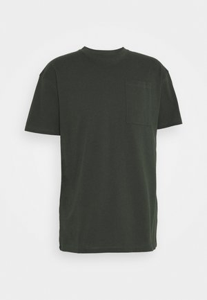 SAVE THEM POCKET - Basic T-shirt - scarab green