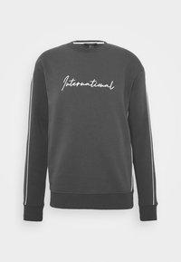 New Look - PIPED  - Sweatshirt - dark grey - 5