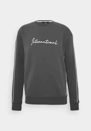 PIPED  - Sweatshirt - dark grey