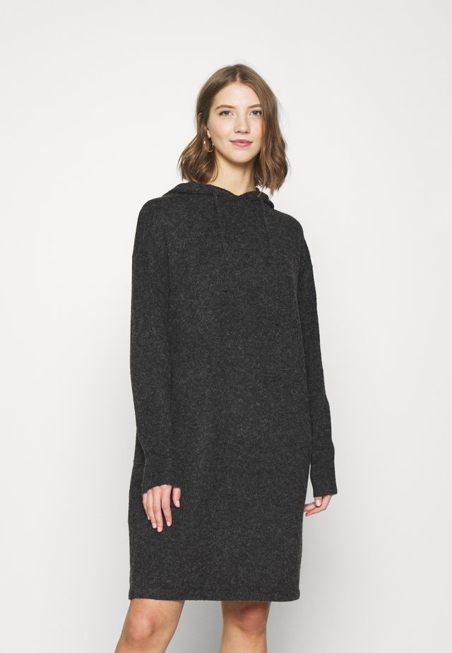 VMDOFFY HOOD DRESS - Jumper dress - black