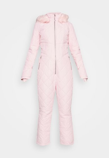 SKI QUILTED CORSET SNOW - Jumpsuit - pink
