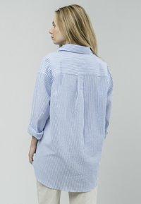 Brava Fabrics - SAKURAYA TEA - Button-down blouse - blue - 2