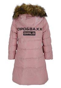 Cipo & Baxx - MIT HANDSCHUHEN - Winter coat - pink - 2