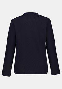 GINA LAURA - Zip-up hoodie - dunkel marine - 4
