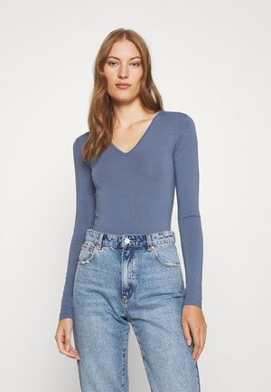 VANNA - Long sleeved top - vintage indigo