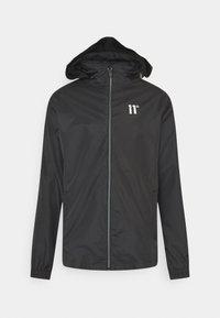 11 DEGREES - ASTRO FULL ZIP JACKET - Summer jacket - black - 0