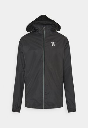 ASTRO FULL ZIP JACKET - Chaqueta fina - black
