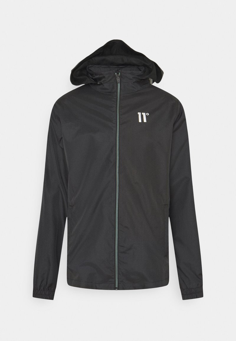 11 DEGREES - ASTRO FULL ZIP JACKET - Summer jacket - black