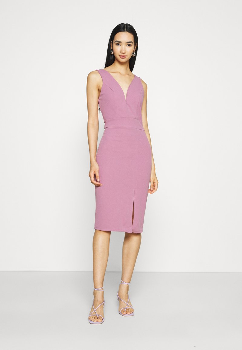WAL G. - KADINE MIDI DRESS - Cocktail dress / Party dress - mauve pink