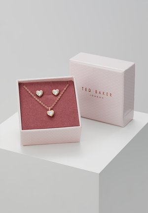 HADEYA HEART GIFT SET - Earrings - rose gold-coloured
