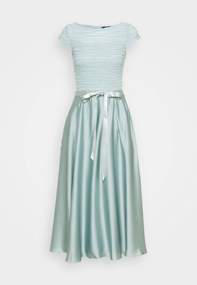 Cocktail dress / Party dress - pistazie/silver
