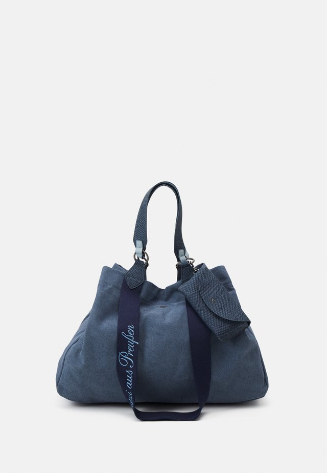 IZZY SET - Shopper - denim