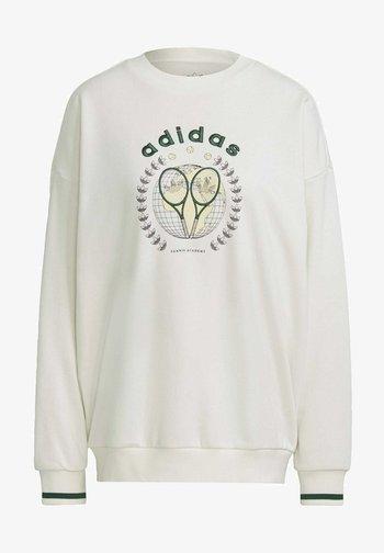 TENNIS LUXE GRAPHIC SWEATER ORIGINALS PULLOVER - Sweatshirt - off white