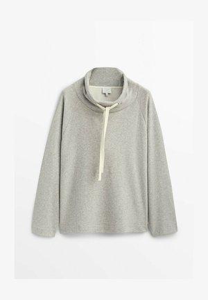 MIT STEHKRAGEN  - Sweatshirt - grey
