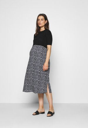 ROOPA ITSY FLORAL DRESS - Day dress - black