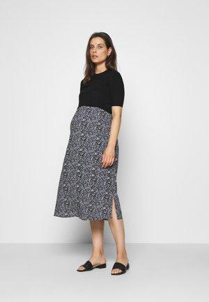 ROOPA ITSY FLORAL DRESS - Vestido informal - black