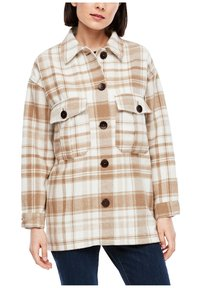 s.Oliver - Light jacket - offwhite check - 3