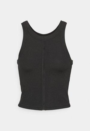EXHALE CROP - Top - black