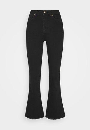 Flared Jeans - blue/black