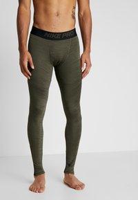 Nike Performance - Tights - cargo khaki/black - 3